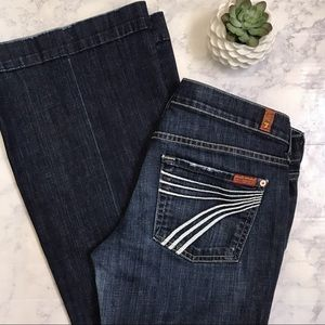 7 For All Mankind Dojo Jeans 28x31